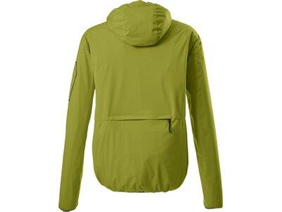 Killtec Softshell Jacke mit Kapuze, packbar-Trin MN SOFTSHELL JCKT Grün