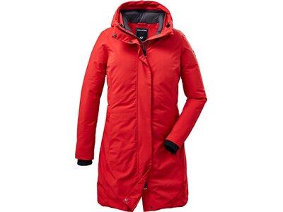 KILLTEC Damen Mantel KOW 160 WMN PRK Rot