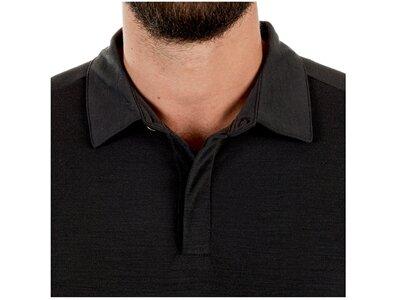 MAMMUT Herren T-Shirt Alvra Polo Grau