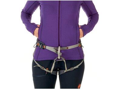 MAMMUT Damen Alpinjacke Eiswand Advanced ML Hooded Jacket Lila
