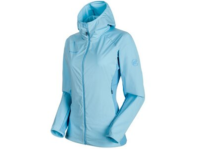 MAMMUT Damen Funktionsjacke Keiko Light SO Hooded Blau