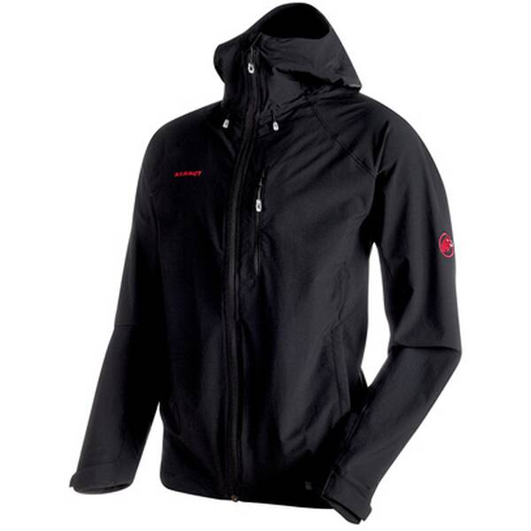 MAMMUT Herren Funktionsjacke Runbold Trail SO Hooded Jacket