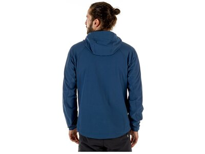 MAMMUT Herren Funktionsjacke Runbold Trail SO Hooded Jacket Blau