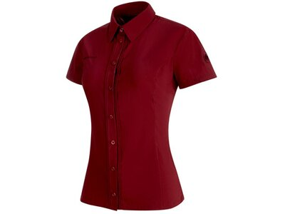 MAMMUT Damen Shirt Trovat Light Rot