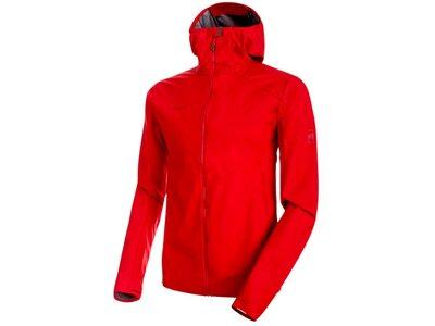 MAMMUT Herren Funktionsjacke Ultimate V Light SO Hooded Jacket Rot
