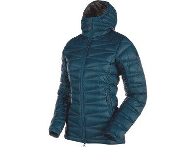 MAMMUT Damen Funktionsjacke Miva IN Hooded Jacket Women Blau