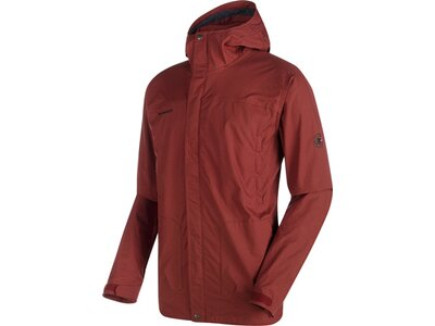 MAMMUT Herren Funktionsjacke Trovat Guide SO Hooded Braun