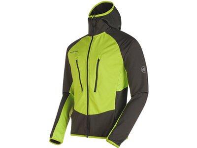 MAMMUT Herren Skijacke Aenergy Light ML Hooded Jacket Grün