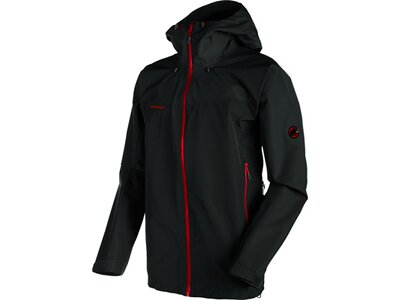 "MAMMUT Herren Trekkingjacke ""Crater HS Hooded Jacket Men"" Schwarz"