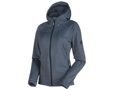 MAMMUT Damen Alpinjacke Runbold ML Hooded Jacket Blau