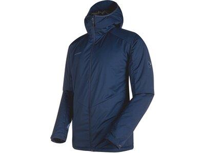 MAMMUT Herren Funktionsjacke Chamuera SO Thermo Hooded Jacket Men Blau