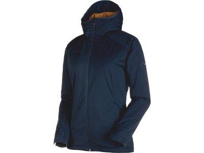 MAMMUT Damen Funktionsjacke Chamuera SO Thermo Hooded Jacket Women Blau