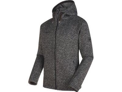 MAMMUT Herren Fleecejacke Chamuera ML Hooded Jacket Grau