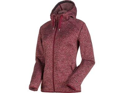 MAMMUT Damen Fleecejacke Chamuera ML Hooded Jacket graphite Braun