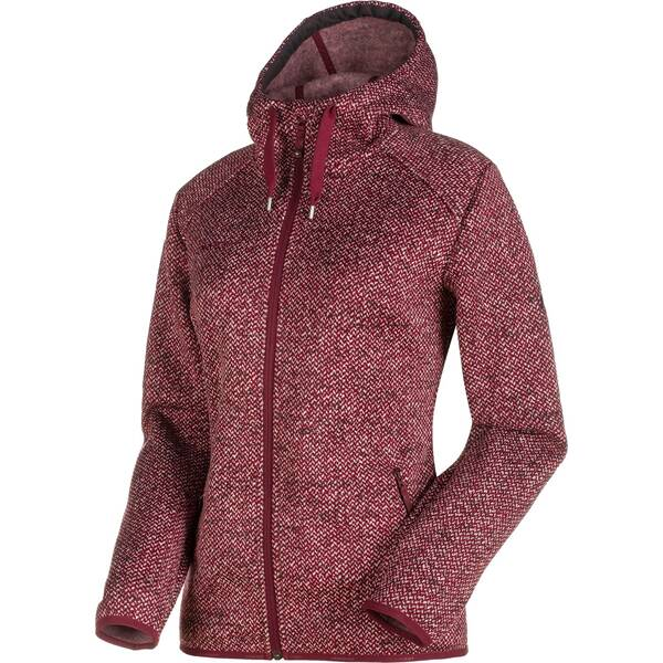 MAMMUT Damen Fleecejacke Chamuera ML Hooded Jacket graphite