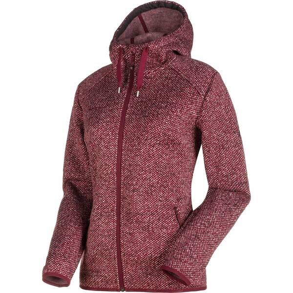 MAMMUT Damen Fleecejacke Chamuera ML Hooded Jacket graphite