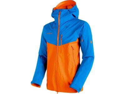 "MAMMUT Herren Bergsportjacke / Trekkingjacke ""Nordwand Pro HS Hooded Jacket Men"" Blau"