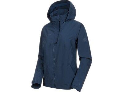 MAMMUT Damen Funktionsjacke Trovat HS Hooded Blau