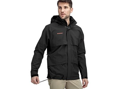 MAMMUT Herren Heritage HS Hooded Jacket Men Schwarz