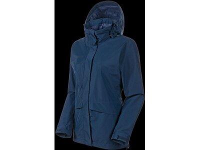 MAMMUT Damen Heritage HS Hooded Jacket Women Blau