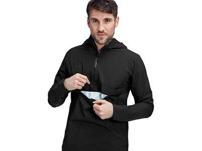 MAMMUT Herren Albula Half Zip HS Hooded Jacket Men Schwarz