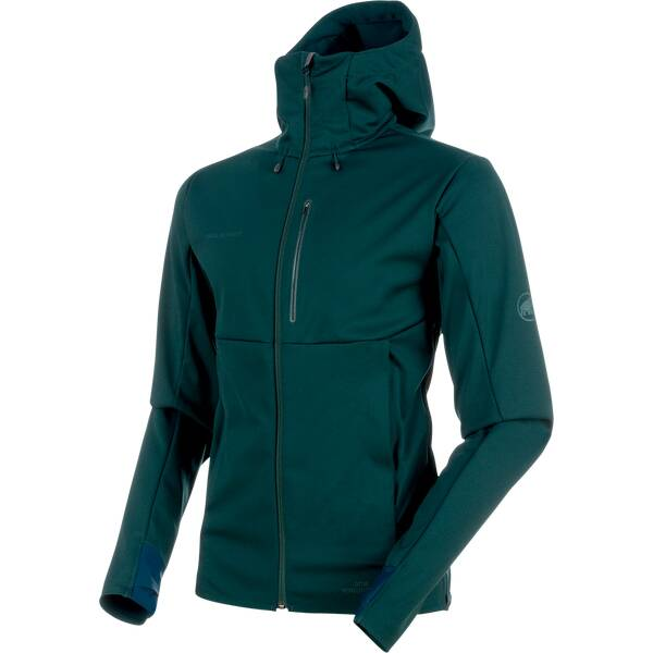 MAMMUT Herren Outdoorjacke Ultimate V SO Hooded Jacket