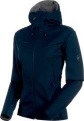 MAMMUT Damen Wanderjacke Ultimate V SO Hooded Jacket
