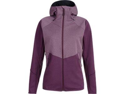 MAMMUT Damen Funktionsjacke Ultimate VI SO Hooded Jacket Women Lila