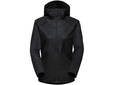 MAMMUT Damen Funktionsjacke Ultimate VI SO Hooded Jacket Women Schwarz