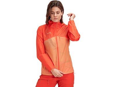 MAMMUT Damen Convey WB Hooded Jacket Women Orange