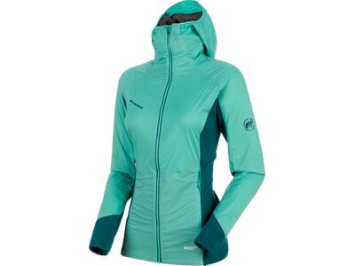 MAMMUT Damen Alpinjacke Aenergy IN Hooded Jacket Grün