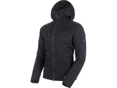 MAMMUT Herren Alpinjacke Rime IN Flex Hooded Jacket Schwarz