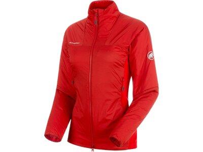 MAMMUT Damen Jacke Rime IN Hybrid Flex Rot