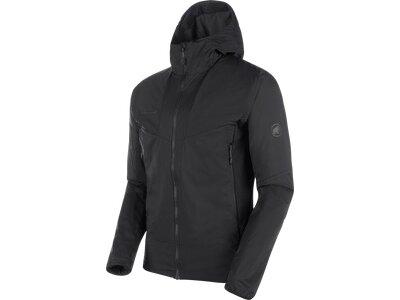 MAMMUT Herren Rime Light IN Flex Hooded Jacket Men Schwarz