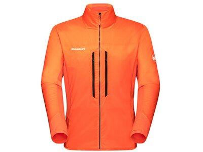 MAMMUT Herren Funktionsjacke Eigerjoch IN Hybrid Jacket Men Orange