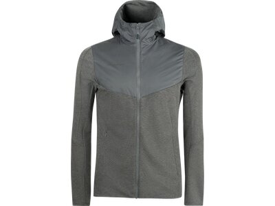 MAMMUT Herren Alvra ML Hooded Jacket Men Grau