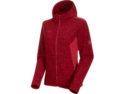 MAMMUT Damen Unterjacke Yadkin ML Hooded Jacket Women Rot
