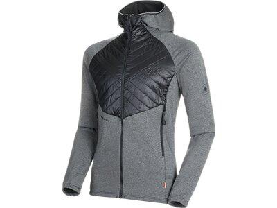 MAMMUT Herren Aconcagua Light Hybrid ML Hooded Jacket Men Grau
