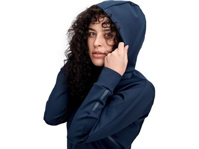 MAMMUT Damen Avers ML Hooded Jacket Women Blau