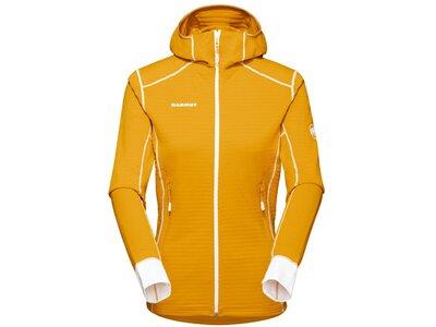MAMMUT Damen Funktionsjacke Aconcagua Light ML Hooded Jacket Women Gelb