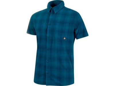 MAMMUT Herren Hemd Trovat Trail Shirt Blau