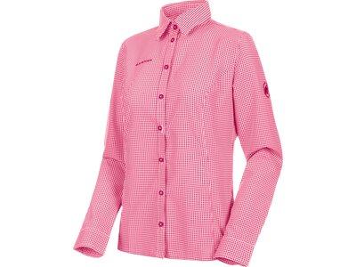 MAMMUT Damen Hemd Aada Pink