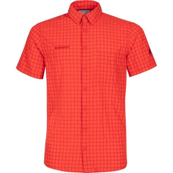 MAMMUT Herren Outdoor-Hemd Leinni Kurzarm | Bekleidung > Hemden > Freizeithemden | mammut