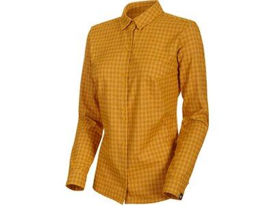 """MAMMUT Damen Wanderbluse """"Winter Longsleeve Shirt Women"""" Braun"""
