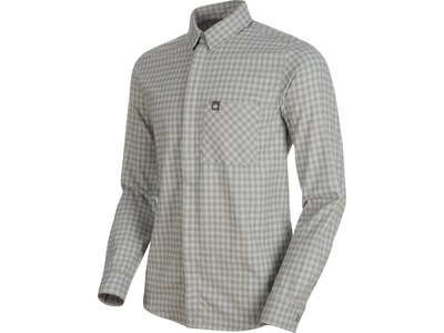 "MAMMUT Herren Wanderhemd ""Winter Longsleeve Shirt Men"" Regular Fit Grau"