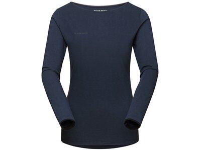 MAMMUT Damen Shirt Camie Longsleeve Women Blau