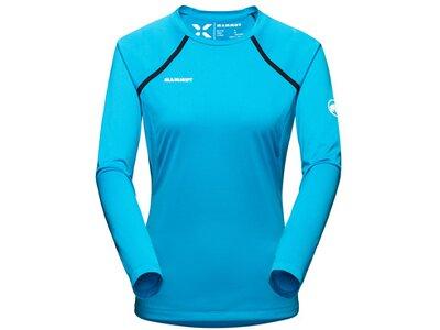 MAMMUT Damen Shirt Moench Light Longsleeve Women Blau