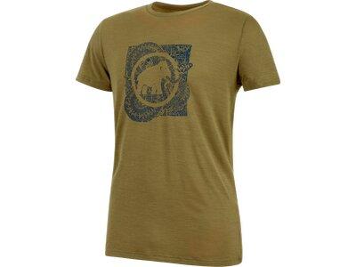 MAMMUT Herren T-Shirt Alnasca Braun