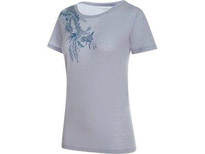 MAMMUT Damen T-Shirt Alnasca Silber
