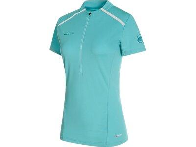 MAMMUT Damen T-Shirt Atacazo Light Zip Blau